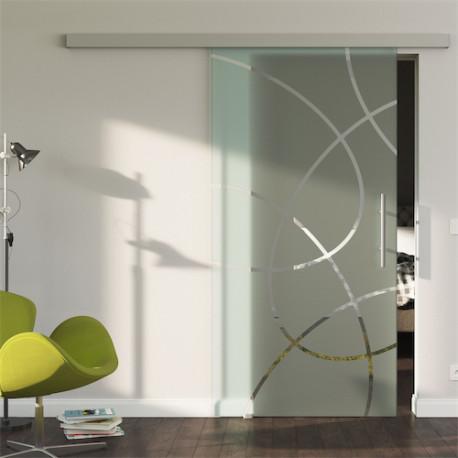 Glasschiebetür Design Essen (E) Standard-Beschlag Sydpark optional: SoftClose