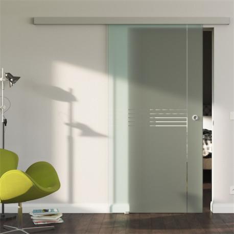 Glasschiebetür Design Ingolstadt (I) Standard-Beschlag Sydpark optional: SoftClose