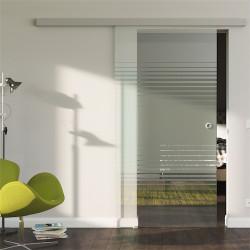 Glasschiebetür Design Landshut (L) Standard-Beschlag Sydpark optional: SoftClose