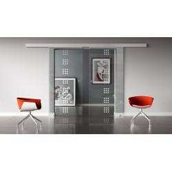 Glasschiebetüren Design Regensburg (R) Standard-Beschlag Sydpark optional: SoftClose - 2 Scheiben
