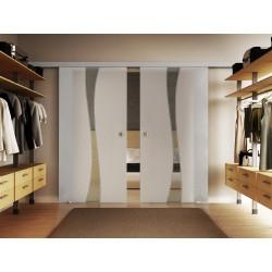 Doppel-Glasschiebetür Design Berlin DORMA Muto 60 optional: SoftClose