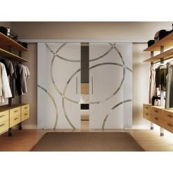 Doppel-Glasschiebetür Design Coburg DORMA Muto 60 optional: SoftClose