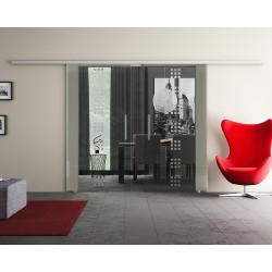 Doppel-Glasschiebetür Design Regensburg DORMA Muto 60 optional: SoftClose